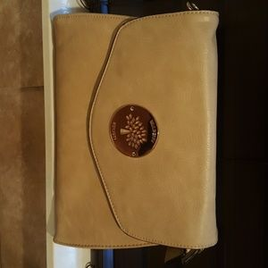 Mulberry off white purse